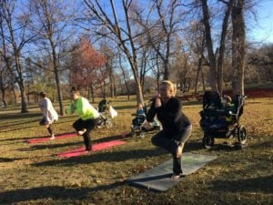 Minot SLAM_yoga for moms